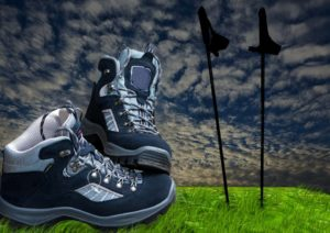 Using Trekking Poles for a Balance Disorder